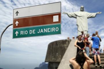 Christ the Redeemer on Rio de Janeiro