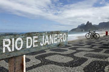Rio de Janeiro sign