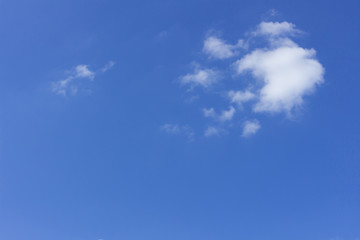 Beautiful Blue Sky Background