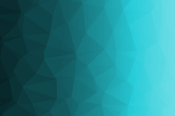 green and white polygon for background design.