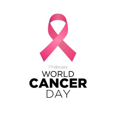 World cancer day vector template