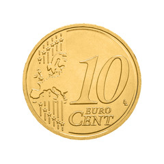 Ten euro cent coin