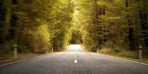 Journey Trip Route Travel Landscape Rural Freedom Concept