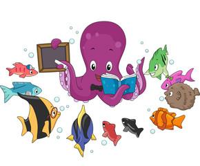 Octopus Teacher Fish