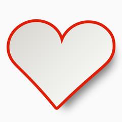 Herz Symbol Zeichen Rot