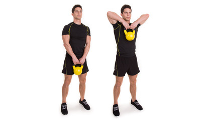Kettlebell, Upright Row , Exercise