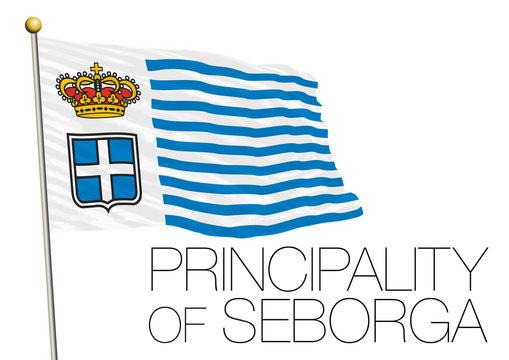 seborga principality flag