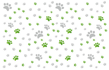 cat paws pattern