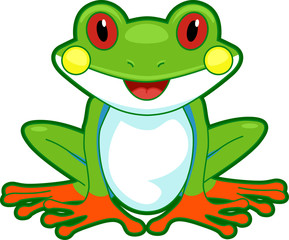 Tree Frog Front
