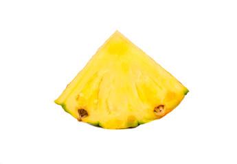 Slice fruit pineapple