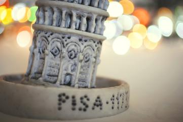 Dettaglio della torre di Pisa