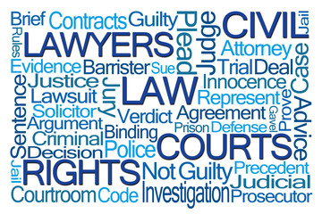 Law Word Cloud