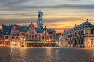 Central Bruges old town