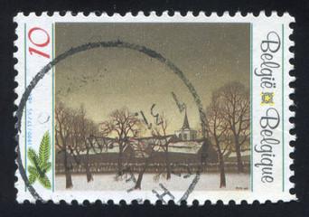 Winter Scene by Jozef Lucas