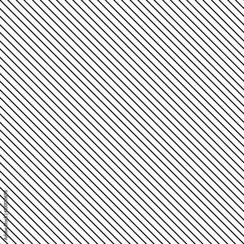 Quot Diagonal Stripe Seamless Pattern Geometric Classic Black