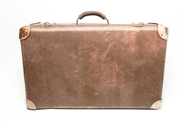 Old Used Suitcase