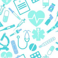 Medicine seamless pattern