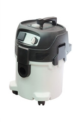 Image of vacuum cleaner under the white background