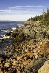 Rocky Shore of Maine