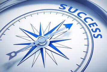 Weißer Kompass - Success