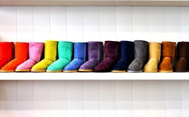 Warm, fuzzy sheepskin Australian winter boots in many colors
