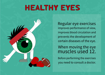 Info about benefits of gymnastics for the healthy eyes