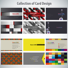 Collection of Card Design Template