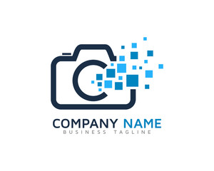 Digital Photo Logo Design Template