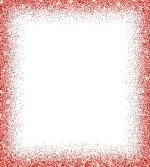 red glitter background.