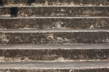 Vintage stair, beware your step to step