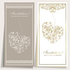 Set mit zwei Glückwunschkarten