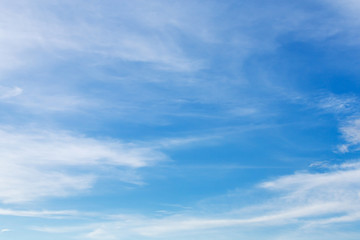 blue sky and white cloud, cloudy sky background