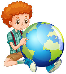 Little boy and the world