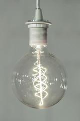 Retro style lightingbulb