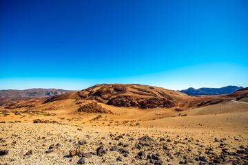 Volcanic landscape on Teide