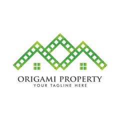 pixel property Logo icon