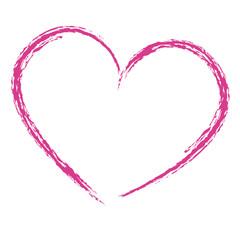 Handgezeichnetes Herz