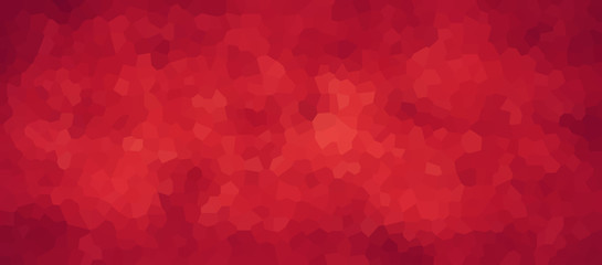 vector illustration - red abstract geometric mosaic colorful picture