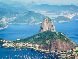 Sugarloaf Mountain in Rio de Janeiro, Brazil Fototapete