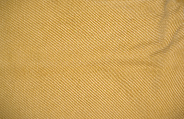 Jeans texture yellow