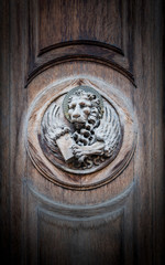 The winged lion of St. Mark, the symbol of the Venetian Republic