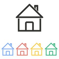 Home - vector icon.
