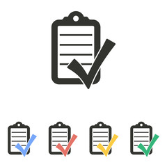 Checklist - vector icon.