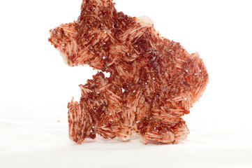 vanadinite crystal sample