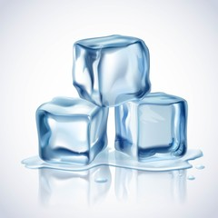 Ice Cubes Blue