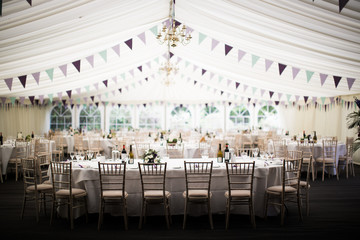 Wedding marquee, United Kingdom, Europe