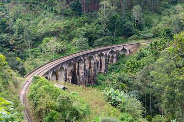 Nine arch Demodara bridge, Sri-Lanka