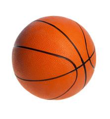 Orange  basket ball, isolated in white background