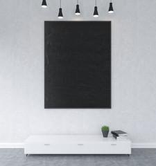 Big board on the wall