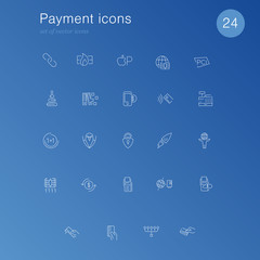 Payment and E-commerce icons